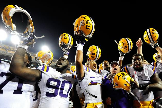 LSU Football: 10 Things We Learned from the Tigers' Win Against the Huskies