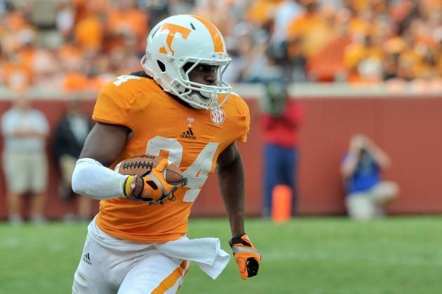 Tennessee Vols Football: Winners and Losers from Week 2 Game vs. Georgia State