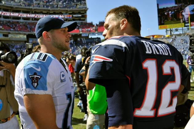 Patriots vs. Titans: Full Week 1 Report Card for New England QB Tom Brady