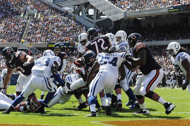 Chicago Bears: Top 5 Players in the Victory over Indianapolis
