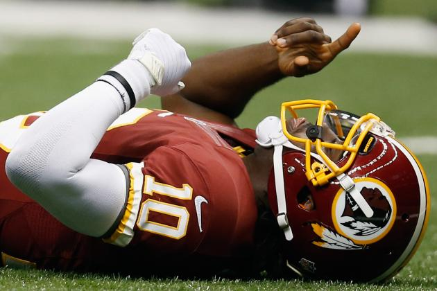 Redskins vs Saints: Full Week 1 Report Card for Washington QB RG3