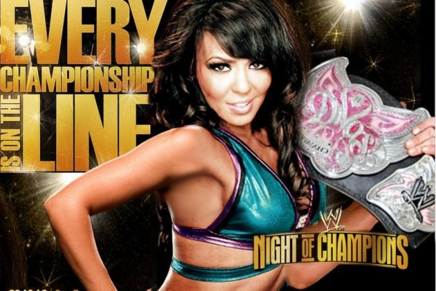 WWE Night of Champions 2012: 5 Reasons Layla Will Crush Kaitlyn
