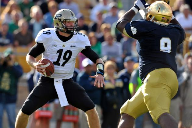 Notre Dame Football: Grading All 22 Starters from the Purdue Game