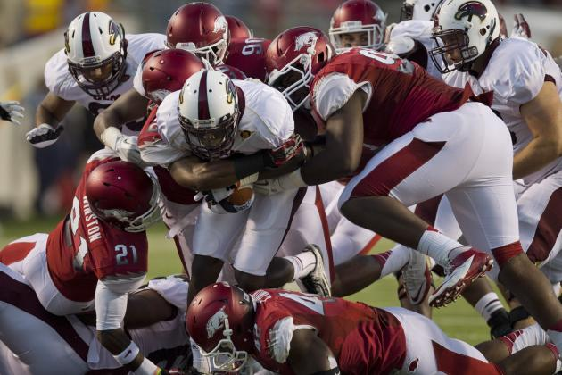 Arkansas Football: Grading All 22 Starting Positions from the Week 2 Upset