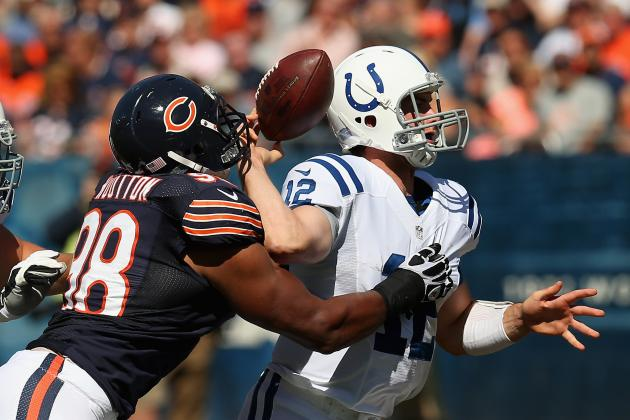 Andrew Luck: Full Week 1 Report Card for Indianapolis Colts QB vs. Chicago Bears