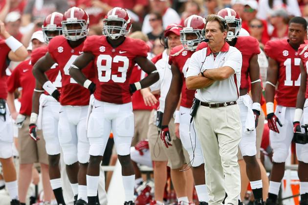 10 Reasons Alabama Crimson Tide Will Never Relinquish No. 1 Spot in Either Poll