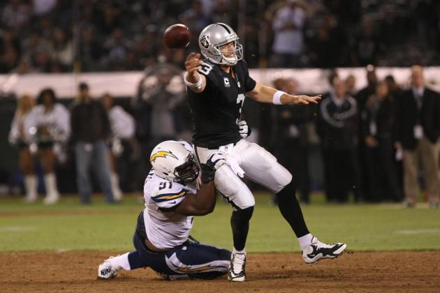 Oakland Raiders vs. San Diego Chargers: Black Holes and Silver Lining