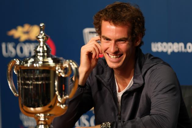 U.S. Open Tennis 2012: Breaking Down Best Moments of Andy Murray's 1st Major Win