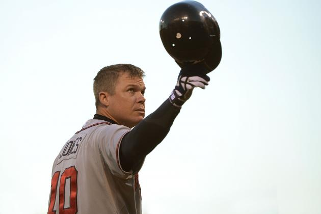 8 Teams That Cannot Wait for Chipper Jones to Retire