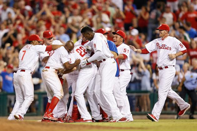 One Stat That Sums Up Each Philadelphia Phillies Player's 2012 Season