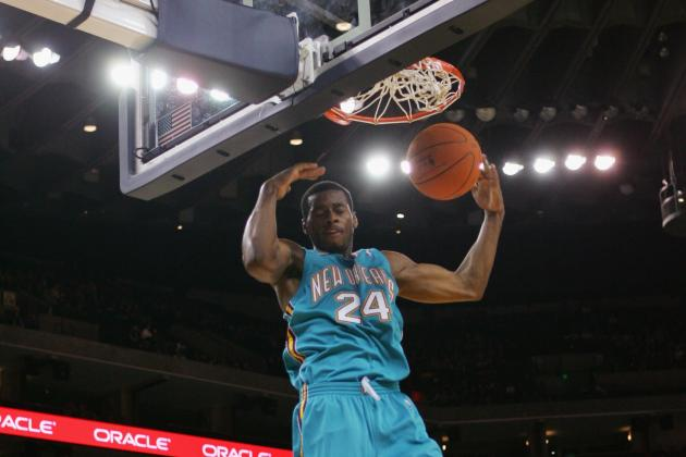 The Top 5 Most Amazing Dunkers in New Orleans Hornets History