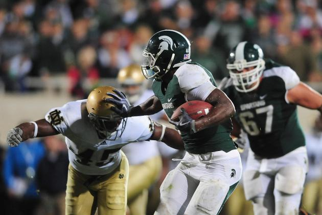 5 Notre Dame Players Who Must Stop Michigan State's Monster RB Le'Veon Bell