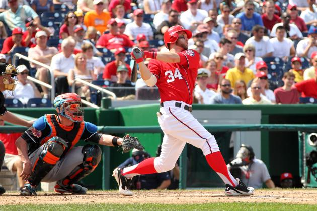 Bryce Harper, Entire Washington Nationals Infield Prove Hitting Is Contagious
