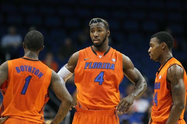 Florida Basketball: Ranking Florida's Starting 5 in Order of Importance