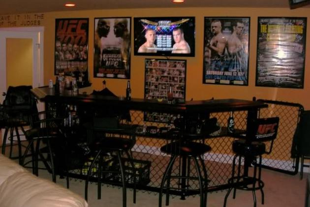 10 Essentials for a UFC Themed MMA Man Cave