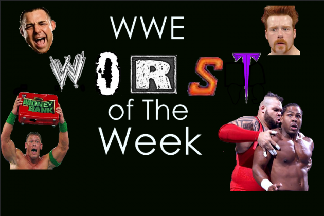 WWE Top 5 Worst of the Week: Sheamus, Kane and More!