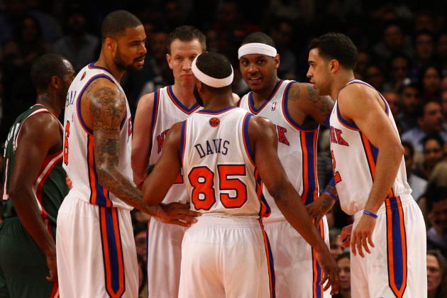 5 Possible Starting Lineups for the New York Knicks in 2012-13