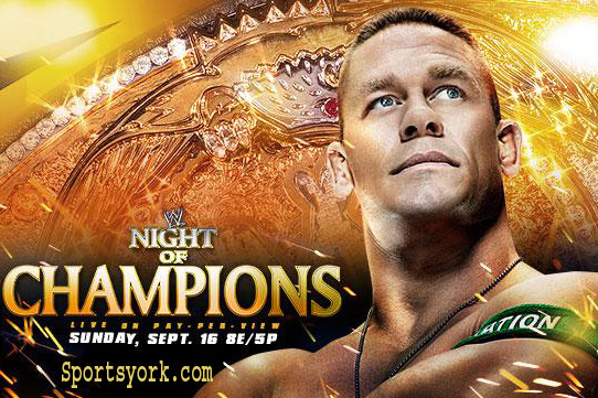 WWE Night of Champions 2012 Predictions