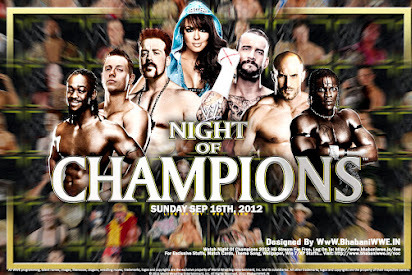 WWE Night of Champions 2012: Power Ranking Matches Based on Potential Excitement