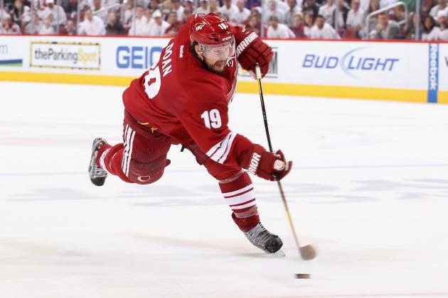 NHL Free Agents: Shane Doan, Evander Kane and Other Pre-Lockout Signings