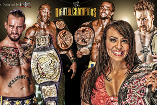 WWE Night of Champions 2012: Preview and Predictions from B/R's Evolution