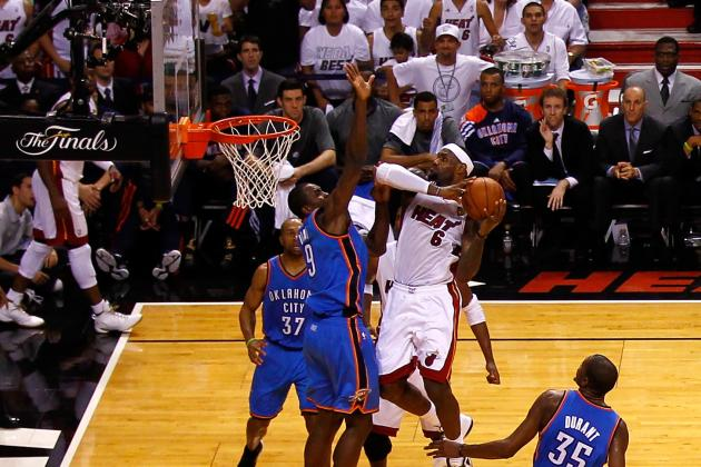 LeBron James and the 15 Greatest Players in NBA History at Getting to the Rim