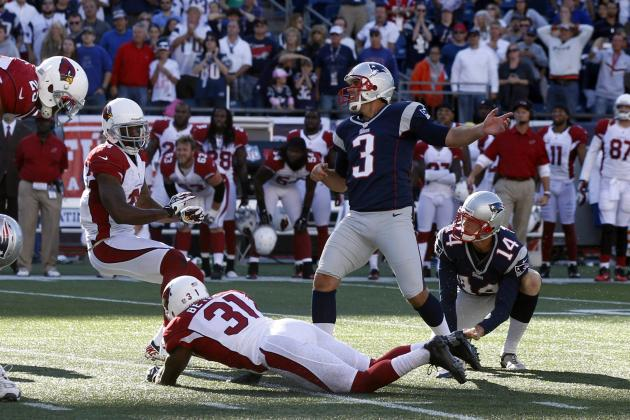 5 Things We Learned from the Patriots' 20-18 Loss to the Arizona Cardinals