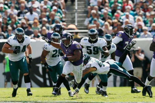 5 Biggest Studs in Baltimore Ravens-Philadelphia Eagles Bloodbath