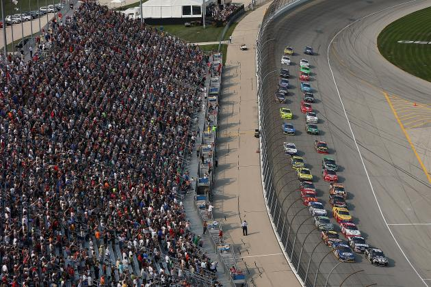 Geico 400 at Chicagoland Speedway: Chase Driver Rankings