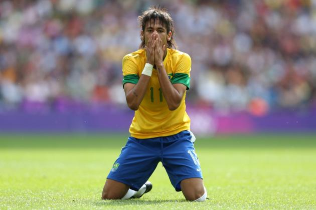 Neymar: Top 5 Likely Transfer Destinations for Santos Star