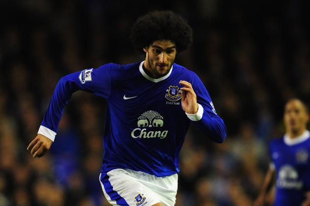 Marouane Fellaini's 6 Potential Replacements If He Leaves Everton in January