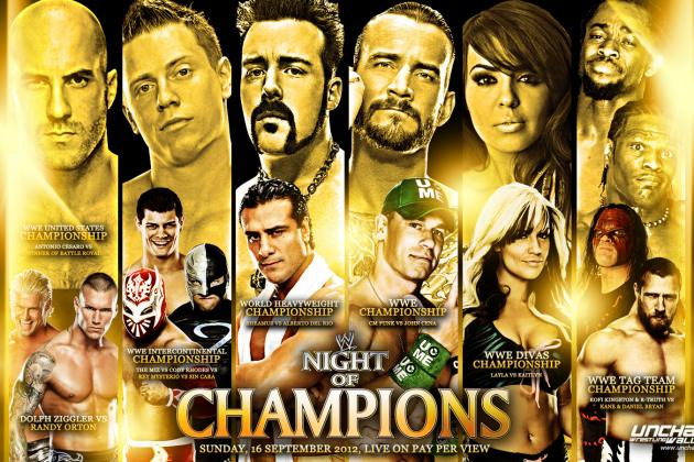 WWE Night of Champions 2012 Results: 5 Positives to Take from the Event