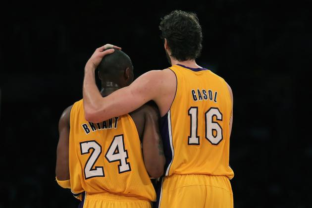 Predicting When Each Star Will Leave the L.A. Lakers
