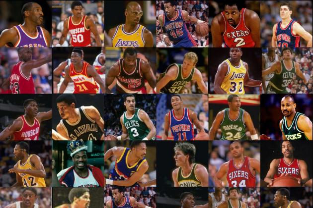 Legends of the NBA: 25 Best Players of the 80s