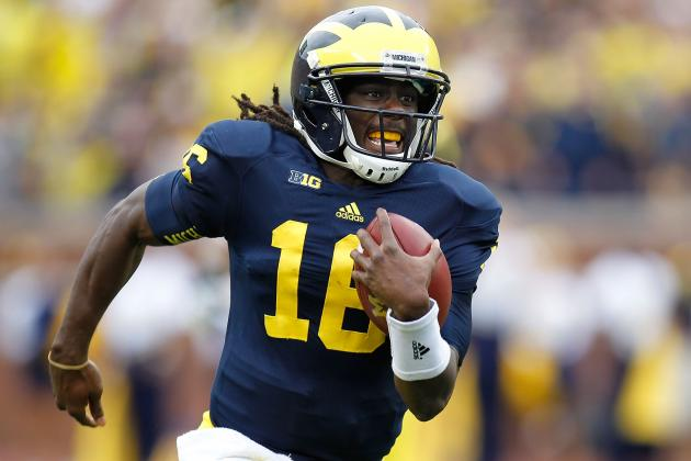 Michigan Football: 3 Things to Expect from Denard Robinson vs. Notre Dame