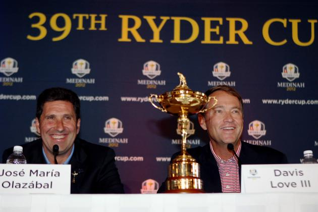 Golf: 5 Players Most Likely to Top Ryder Cup Points Table