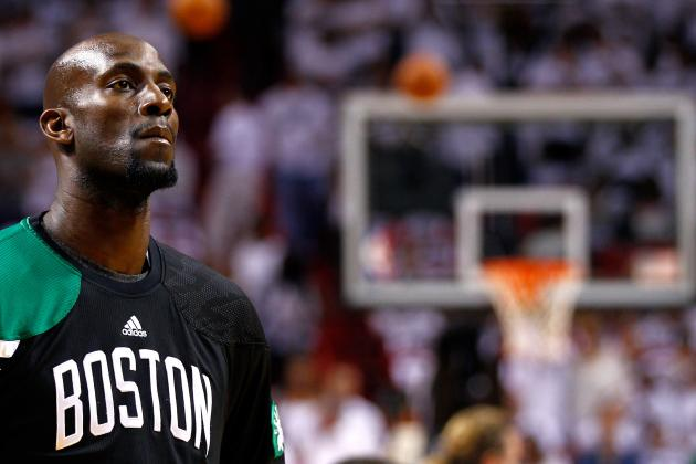 Kevin Garnett's Top 10 Moments as a Boston Celtic