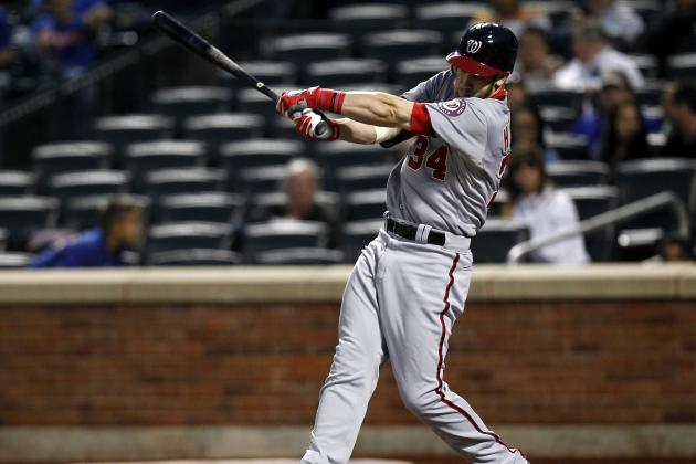 Bryce Harper vs. Todd Frazier: Comparing Top NL Rookie of the Year Candidates