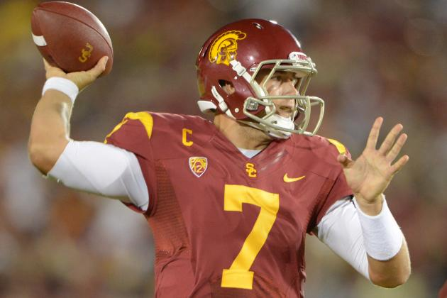 Pac-12 Quarterback Power Rankings After 3 Weeks