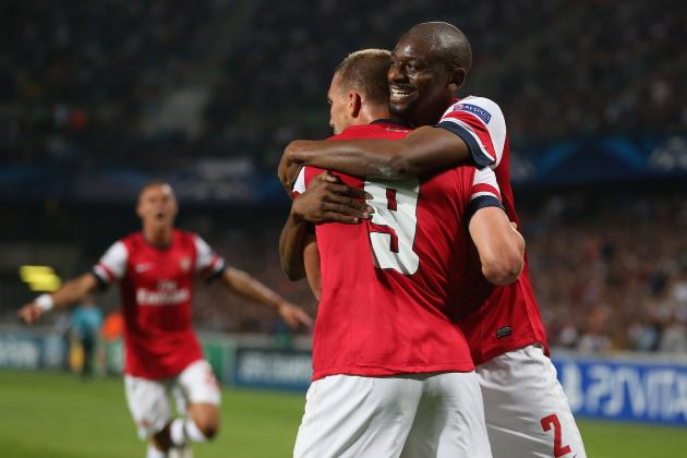 Montpellier vs. Arsenal: Rating the Gunners' Players in Champions League Opener