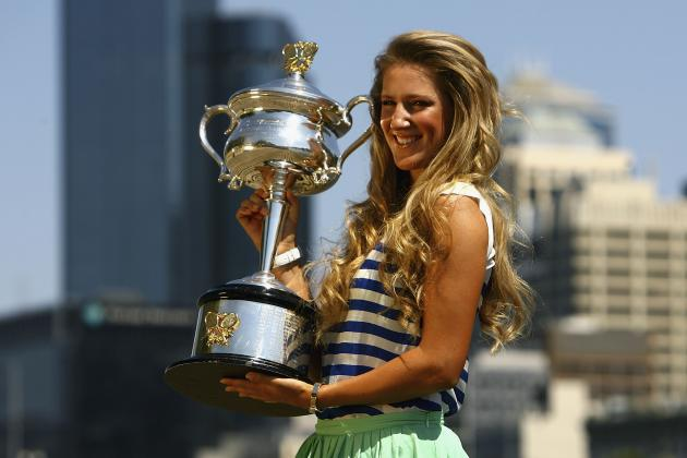 2012 Top 10 WTA Grand Slam Performers