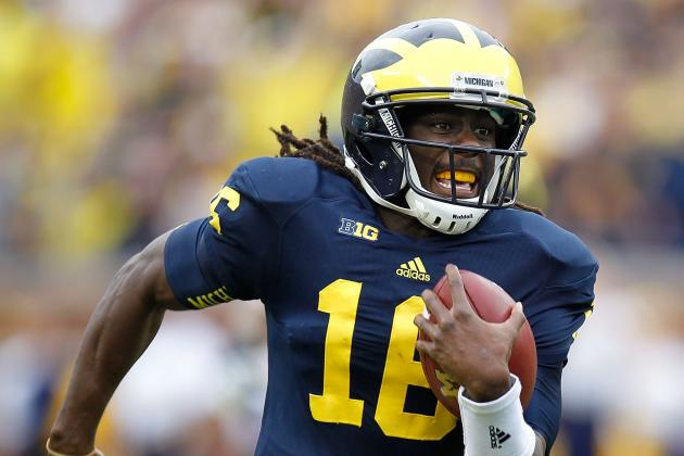 Michigan vs. Notre Dame: Predicting Denard Robinson's Performance Against Irish