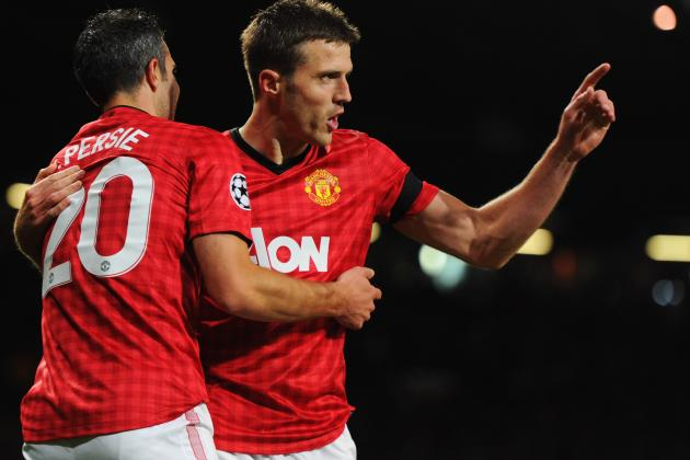 Champions League 2012: Manchester United vs. Galatasaray Player Ratings