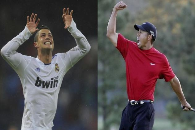 Why Cristiano Ronaldo Is the Tiger Woods of World Football
