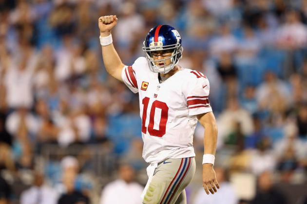 Giants vs. Panthers: Final Report Card, Player Grades for New York