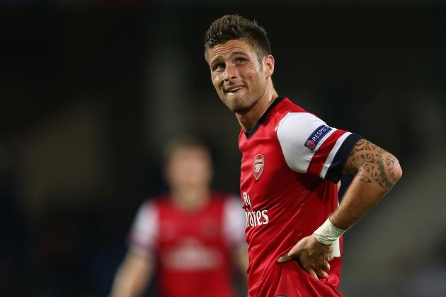 Olivier Giroud: 6 Things Arsenal Can Do to Get Him Scoring