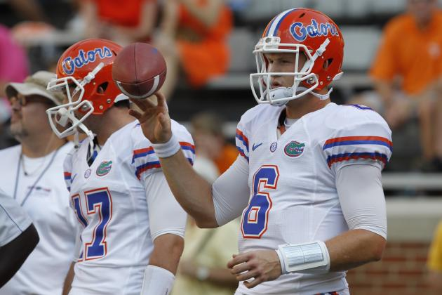 Florida Football: Steady Jeff Driskel Validating Will Muschamp's Faith