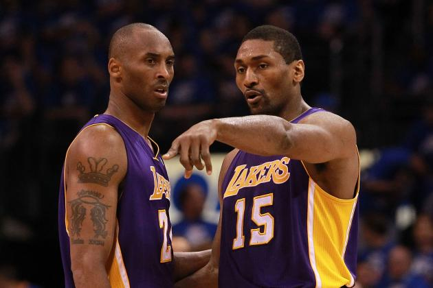 How New-Look LA Lakers Starting Lineup Stacks Up with Every 2013 Title Contender