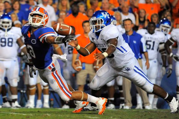 Kentucky vs. Florida: 5 Keys to the Game for the Gators
