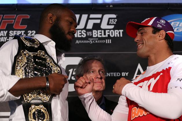 UFC 152 Jones vs. Belfort: Bleacher Report Staff Predictions